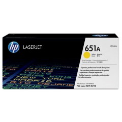 Cartus toner original HP 651A (CE342A) Yellow